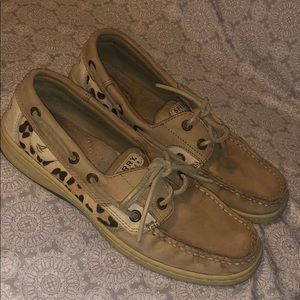 Sperry Leopard/Cheetah Boat Shoes